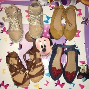 Four Pairs of Shoes Bundle.